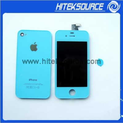 how to change iphone 4 screen color