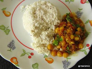 Kadala curry-Kerala style chickpeas curry