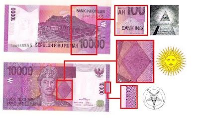 Simbol Illuminati Dalam Uang Pecahan Indonesia | PRA