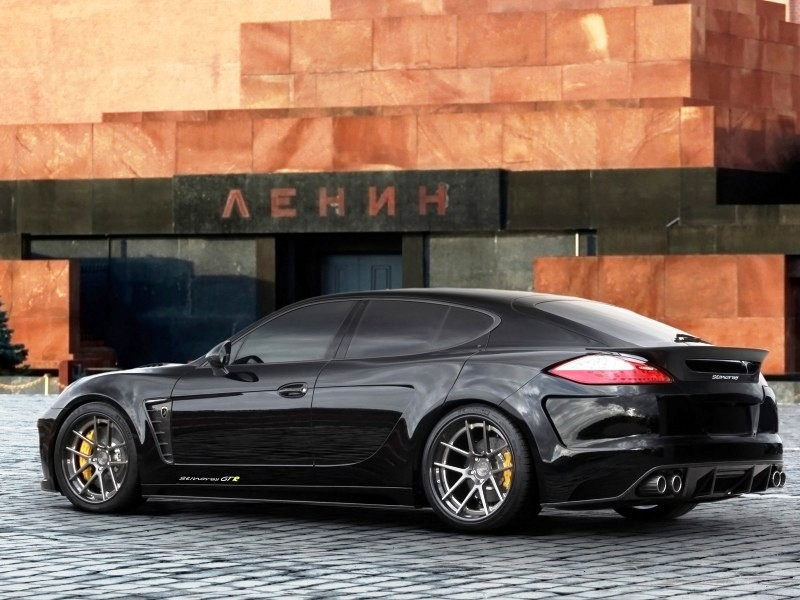 2012 Porsche Panamera Turbo Stingray