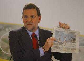 Mariano Rajoy pidió la dimisión de Anxo Quintana