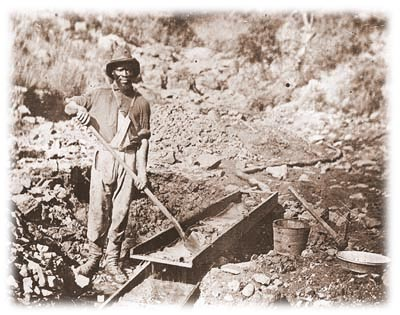 gold rush california. california gold rush images.