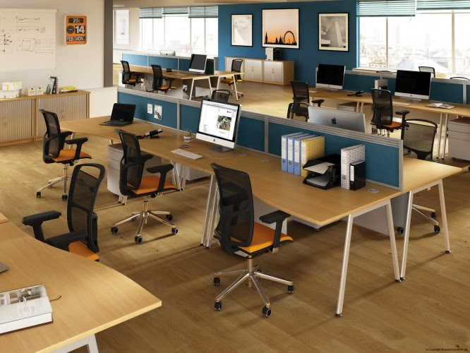 A4 Bluespot Desks