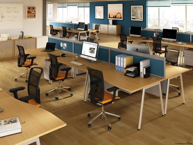 A4 Bluespot Desks