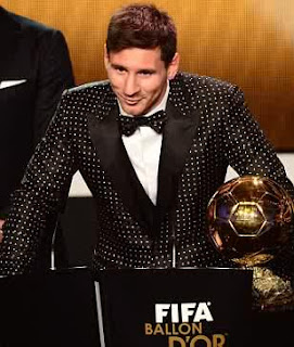 Football god Lionel Messi wins fourth Ballon d'Or award after record-breaking year