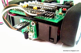 Подключение датчика линии к роботу