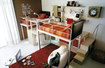 Habitación juvenil dos chicas