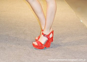 Lady Stork primavera verano 2014. Moda sandalias 2014.
