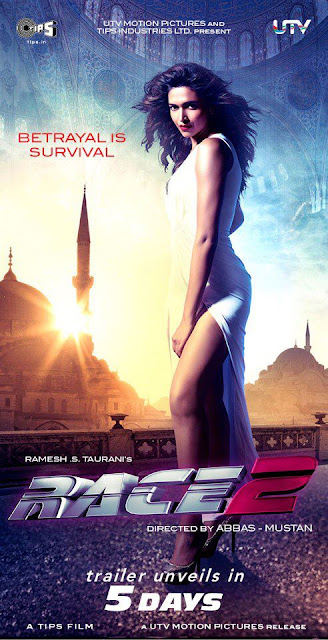 First Look : Race 2 Bollywood Movie