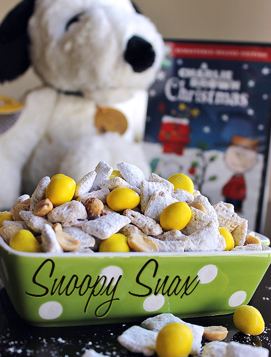 Celebrate 50 years of A Charlie Brown Christmas With This Snoopy Snax Recipe!