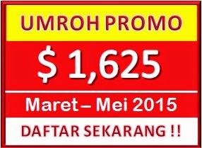 PAKET UMROH PROMO 2015