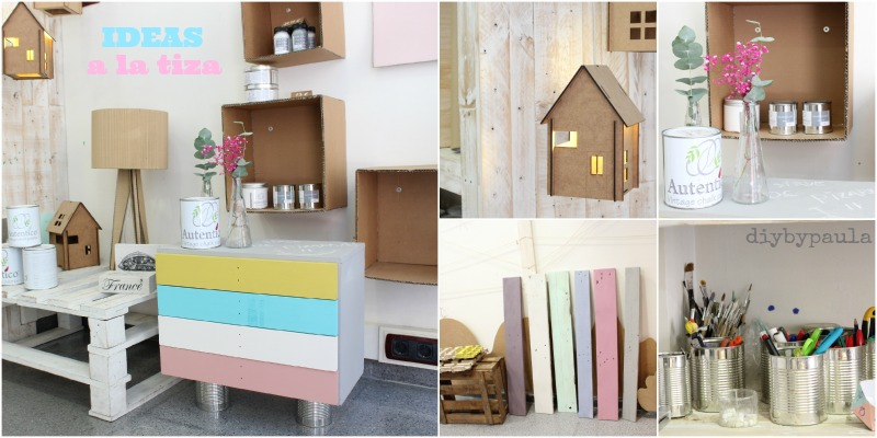 Diy by paula taller de chalk paint en ideas a la tiza - Pintura ala tiza colores ...