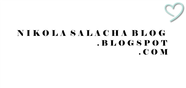 Nikola Salacha Blog
