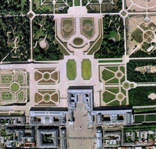 Los ordenados jardines de Versalles