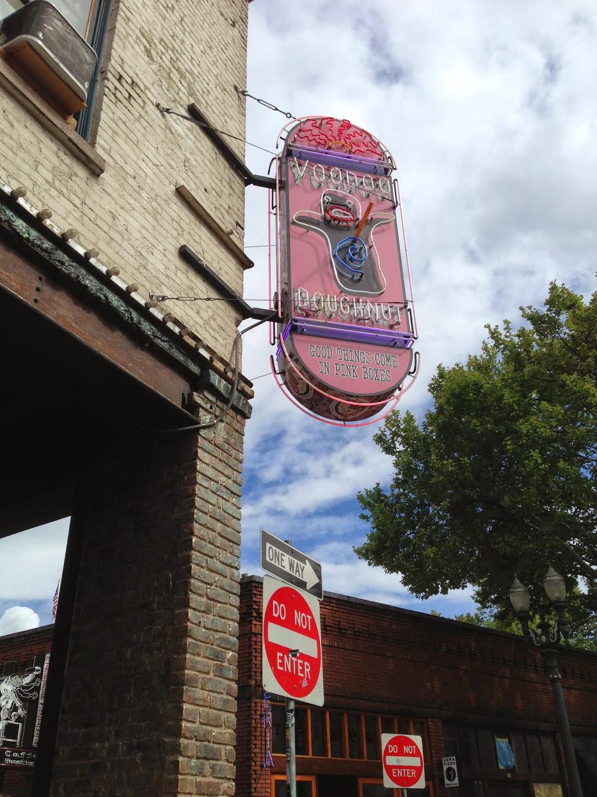 Store front Voodoo Doughnuts