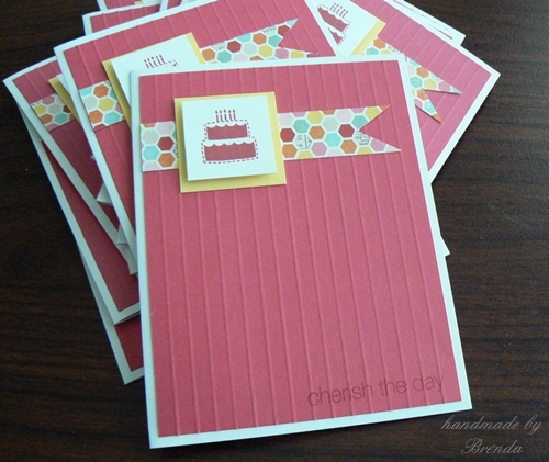 Crafting With Joanie Easy Girls Birthday Card