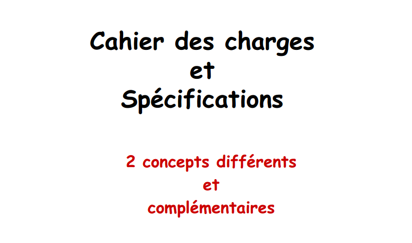 Stagepfe pdf exemple cahier des charges et sp cifications 2 concepts diff r - Cahier des charges def ...