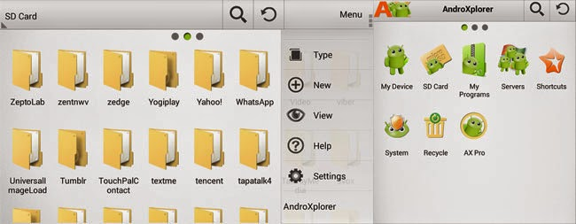 AndroXplorer File Manager
