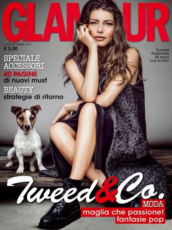 Louise Pedersen - Glamour Magazine Italia, September 2014