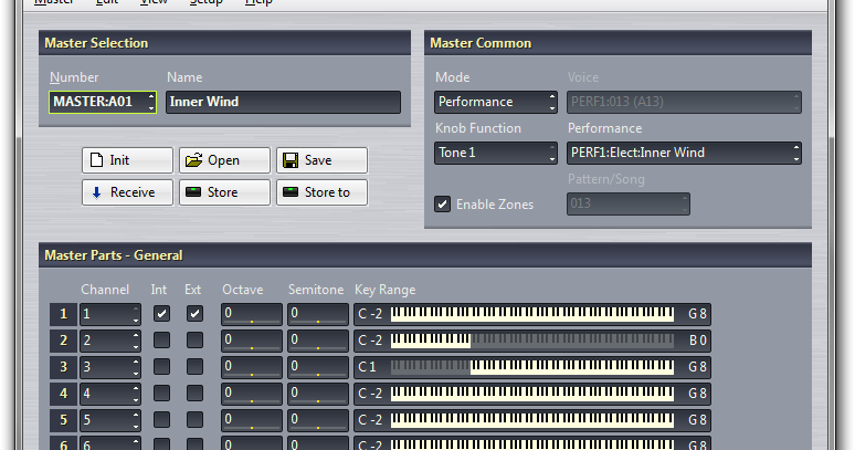 Yamaha Expansion Voice Editor