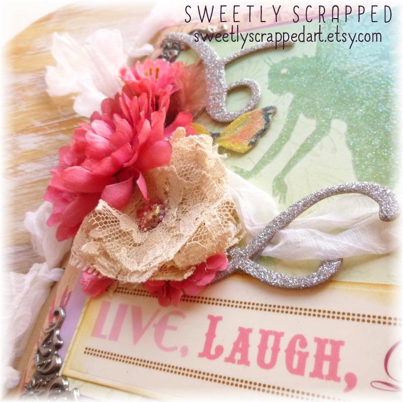 Sweetly Scrapped Live Laugh Love Fairy Tale Mini Album
