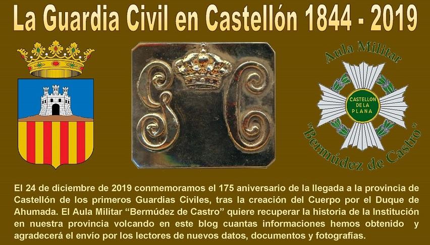 La Guardia Civil en Castellón 1844 - 2019