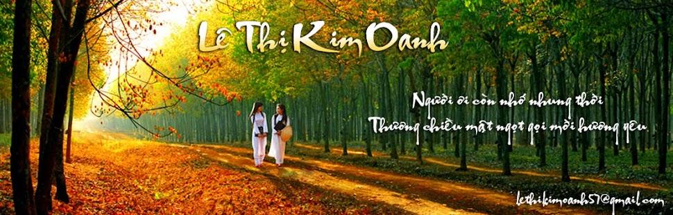 Lê Thị Kim Oanh