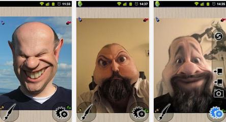 Photo Warp - Aplikasi Unik Android Terbaik