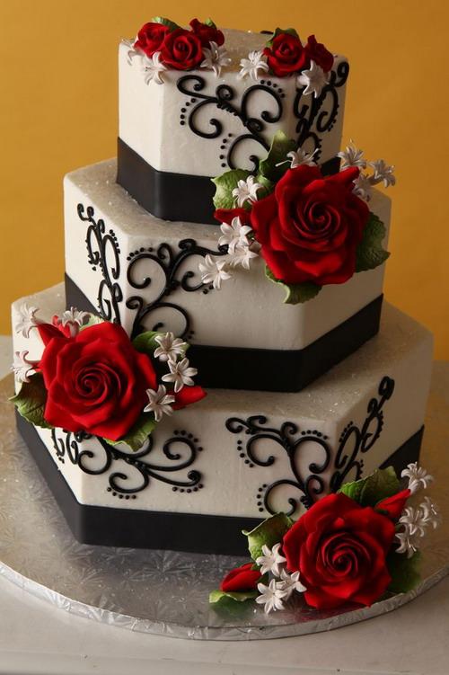 wedding cake october 2015