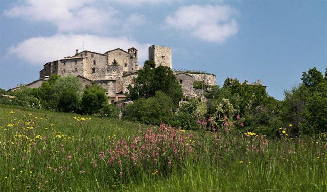 casa rural en italia entorno del pueblo medieval