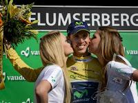 CICLISMO-Rui Costa consigue de nuevo ganar en Suiza