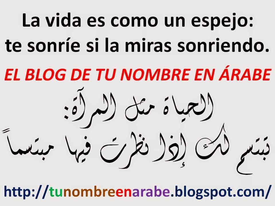 frases en arabe y su significado
