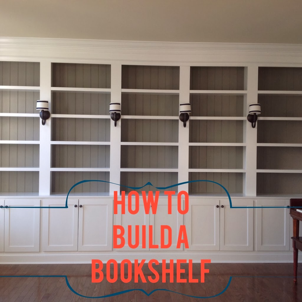 Built In Bookcases Diy: Right Up My Alley: How We Built Our Library Bookshelves