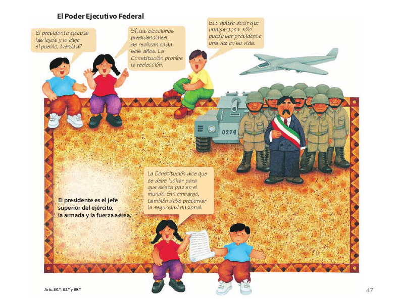 El Poder Ejecutivo Federal - Conoce nuestra Constitución 4to 2014-2015