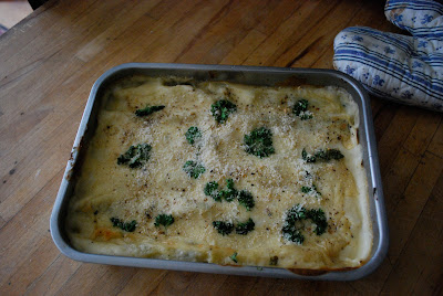 easiest recipe cannelloni spinach ricotta