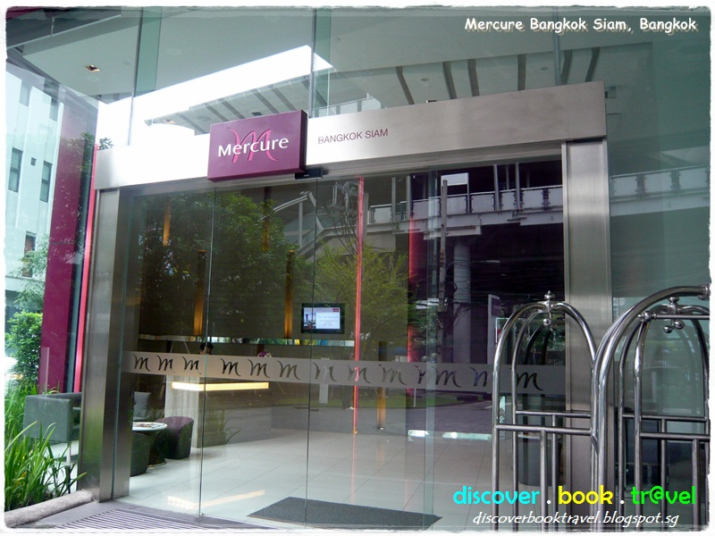 Google Maps Discoverbooktravel Hotel Review Mercure Bangkok Siam