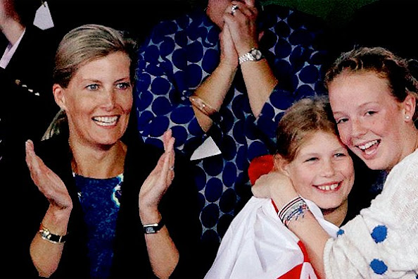 Sophie, Countess of Wessex and daughter Lady Louise Windsor