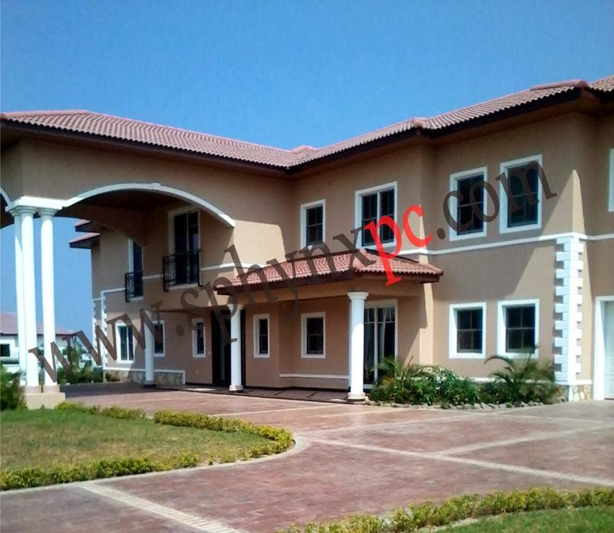 2014 latest new trasacco valley houses for sale in ghana for Modern houses in ghana