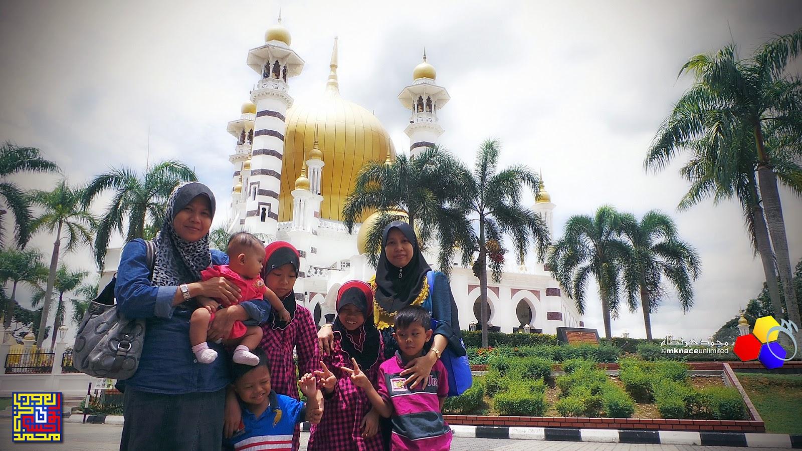 Singgah solat di Masjid Ubudiah Kuala Kangsar