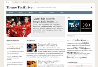 Mimbo 3.0 WordPress Theme