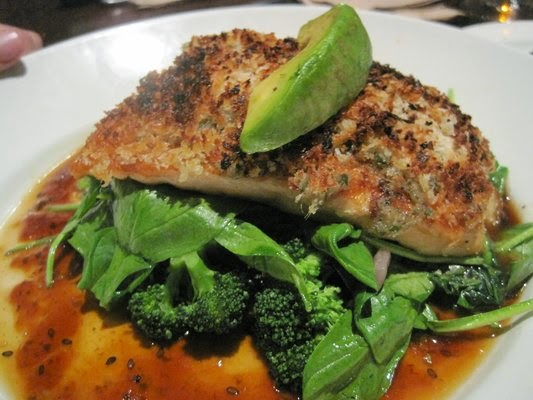 Ginger-Crusted Salmon