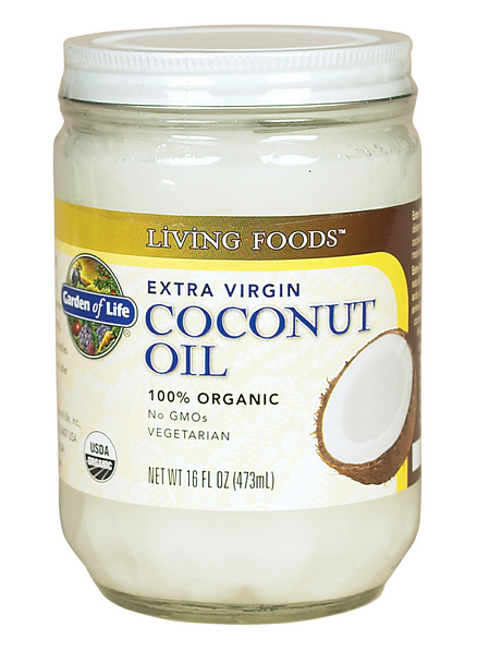 My Superficial Endeavors Garden of Life Extra Virgin Coconut Oil