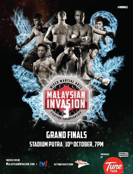 Malaysian Invasion Mixed Martial Arts Season 3
