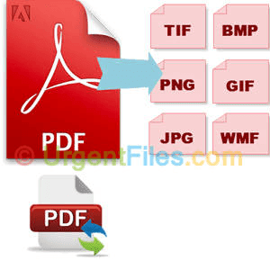 PDF to JPEG/PNG/GIF/BMP Converter