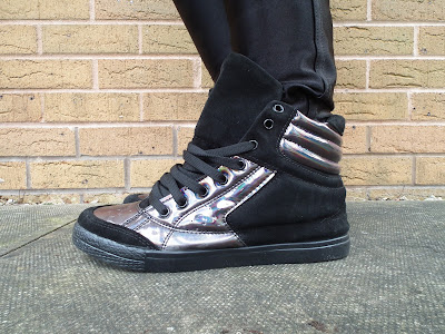 Urban Outfitters shiny sneakers