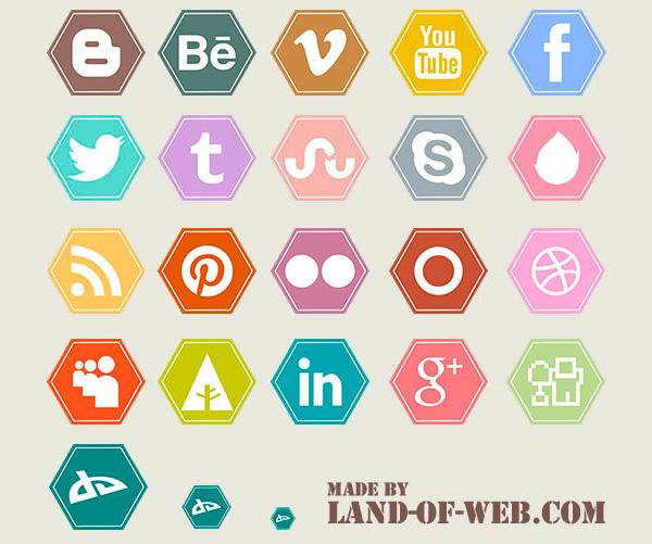29 free social media icon sets