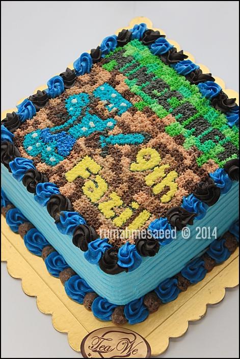 Minecraft Decorated Cakes