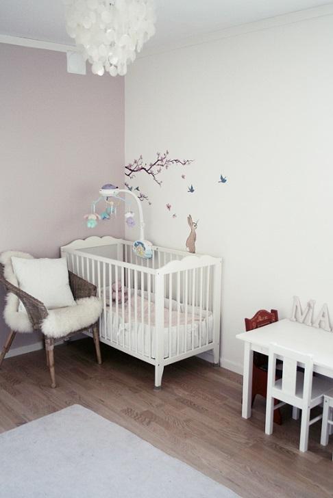 Lille w: klesstativ, barnerom og snart 1 år