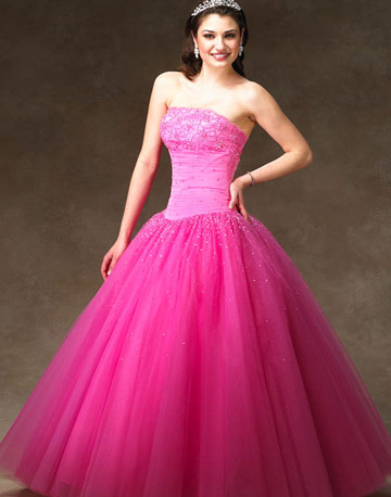 Images Of Pink Wedding Dresses 110