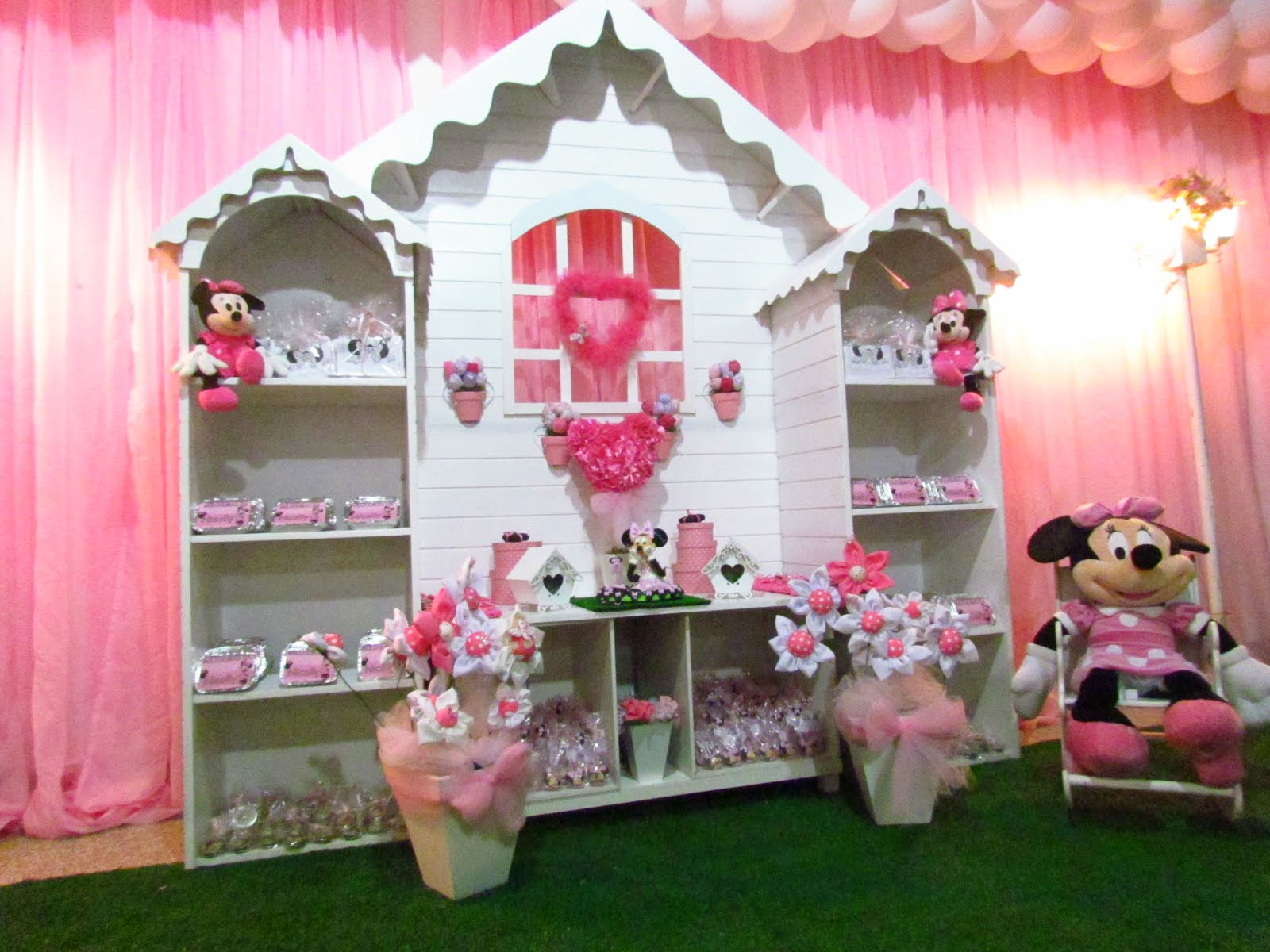 Decorao Clean Decorao Clean Minnie Rosa  Car Interior Design